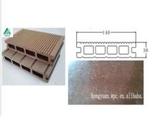 Outdoor Garden Wooden Composite Decking Interlocking Decking Floor / Patio Yard WPC Decking Tiles