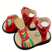 Schuhe cheap wholesale kids toddler shoes 2015latest summer baby sandals shoes leather moccasins with wrestling shoes