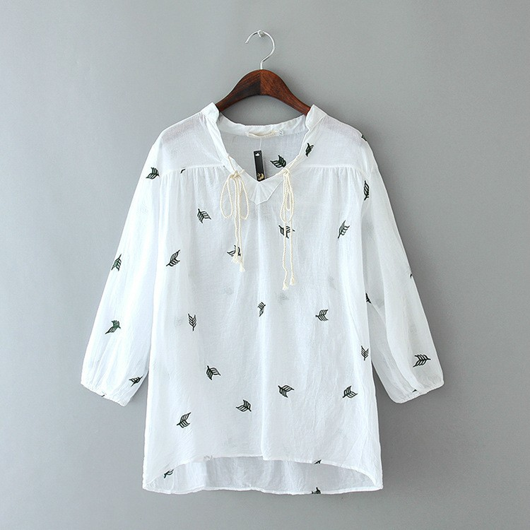 Ladies Linen Blouses Shirts Black Dressy Blouses