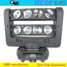 8*10W RGBW 4in1 C REE LEDs Double Row Sharpy Beam New Spider LED Moving Head