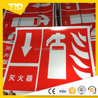 Commercial Grade PET and Acrylic Reflective Sheeting For Road Signs