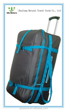Popular waterproof trolley luggage fishing bag for men
