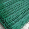 Anping Factory PVC Curvy Welded Wire Fence Panel With Good Quality