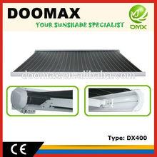 Toldo cinta motorizado con certificado CE #DX400, el mejor