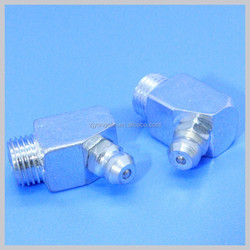 Standard Universal 10mm*1 65Degree Square Angle Steel Zerk Grease Fitting Grease Nipple