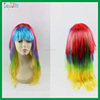 2015 Multicolour Hallween Party Wig Made In China