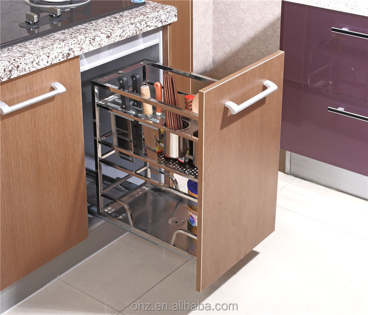 Home Choice Stainless Steel Kitchen Cabinet Pull Out Storage ...