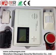 GSM+PSTN Dual Network Wired + Wireless Digital Home Security Burglar Alarm System