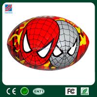 Hot sale stuffed PVC/ PU soft ball,baby ball stuffed toy, spider man logo