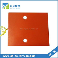 Silicone Rubber Heater Heat Pad Flexible 12v Engine Block Heater