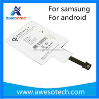 Universal wireless charging receiver with high quality and good price qi receiver for ipad