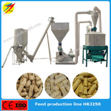 High quality small feed pellet production line with factory price