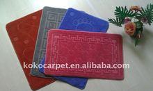 high quality solid color mini PP Floor Mats