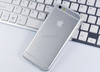 TPU clear back protective mobile phone Cases cover for iPhone4 5 6
