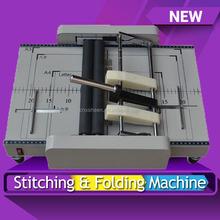 22) paper stitcher, saddle stitcher, book stitcher