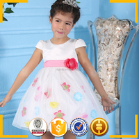 2016 authentic kids clothing wholesale from turkey ball gowns for children