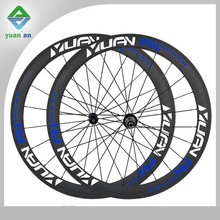 straight pull hub 50mm full carbon fiber rims and pillar spokes made carbon clincher wheelset or wheels