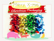 Ribbon Bows For Christmas Day Ornament or Everyday Gift Wrapping Decorations