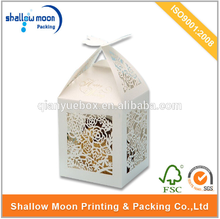wholesale high quality custom fashion design wedding favour boxes