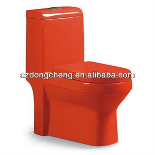 Bathrooom color one piece ceramic wc toilet A3926G