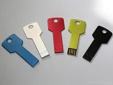 HOT Sale! Metal Key USB Flash Drive 64GB Memory Stick Disk Thumb drive Pen drives Pendrive