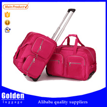 Hot Sale Four-Color Women's Carry On Duffle Bag Large Capacity Travel Trolley Bag