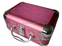 smart aluminum box cosmetic train case XB-CS591
