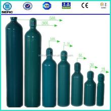 Oxygen Nitrogen Argon Helium Gas Cylinder Seamless Steel Gas Gas Cylinder