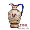 elefante de porcelana vaso