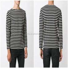 Custom stretch cotton t-shirt&stripsd t shirt manufacturer lahore pakistan