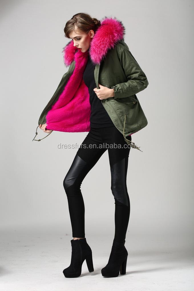 Chambre Vert D Eau : rose rouge dames en fourrure de renard parka haute qualité nouveau …