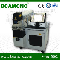 BCJ-Fiber 30W 50W Mass production Plastic Bottle Online pvc small parts machines