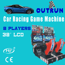 2013 hot sale coin operatedvideo racing game machine Outrun 2012