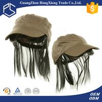 2015 Cool unisex korean fashion custom wigs baseball hats caps