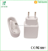 high power 5v 3.1a dual usb wall charger for iphone5