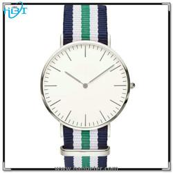 Fashion design best price slim watch 316L stainless steel back quartz watch