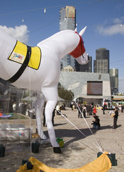 china wholesale inflatable inflatable horse/inflatable replica/inflatable animal