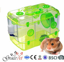 [Grace Pet] Multi-Level Clear Plastic Mice Cage