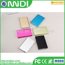 OEM and ODM 2015 best quality rohs power bank 10000mah for smartphone