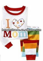 Fashion baby pajamas/baby night suit (high quality& competitive price)