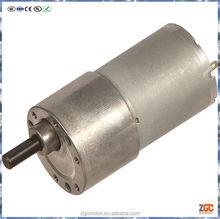 PM DC Spur Gear Motor 35mm,gear box OD37,12V
