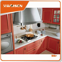 Sample available factory directly honey oak kitchen cabinets