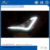 Factory Wholesale Newest Products High Power For Hyundai Elantra 2014-2015 Auto Led Fog lights, Bright LED Daytime Running Light