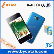 most cheap small size android mobile phone producer BYCO China