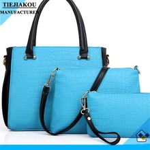 wholesale new product pu leather set bags handbags women 2014 Hot Sales Woman Bag Set Good Quality
