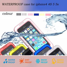 Waterproof Diving Shockproof Dirt Snow Proof Case Cover for iPhone 5