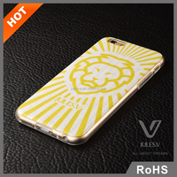 New Fashion Factory Wholesale 3D Flip Pattern PC Phone Case For iPhone 6