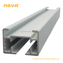 N09 curtain track bending machine of Guangzhou NOVO factory curtain accessories with good quality for motorized window curtain