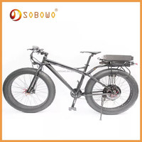 1500W black frame 26*4.0 electric motor scooter