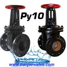 GOST cast iron gate valve pn10 ap 603 gate valve china